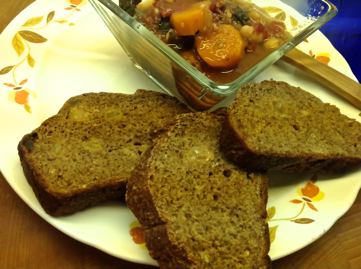 Simple Rustic Bread & Soup