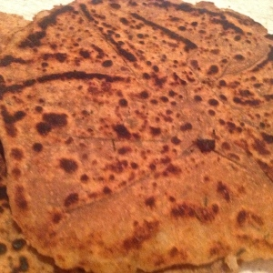 They look like the real Aloo Paratha! done in a skillet.