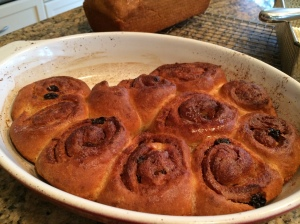 Cinnamon rolls are always nice but with brioche dough they pass into heavenly!